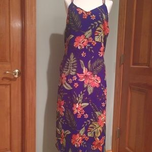 Lush Strappy Floral Dress NWT Size Large